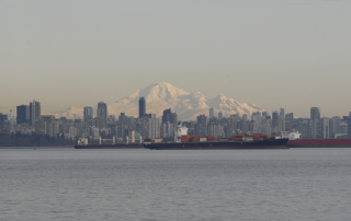 Mount Baker over Vancouver