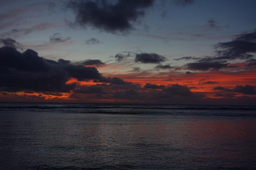 Sunset from Rarotonga